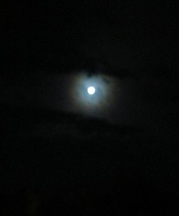 Moon Dark Moonlight Nature Sky Beauty In Nature Silence Space Night Keep Your Eyes Open