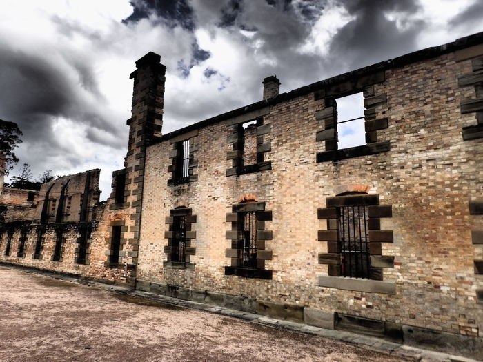 Architecture Dramatic Sky Historic Historical Building Historical Sights History Jail Port Arthur Ruins EyeEmNewHere