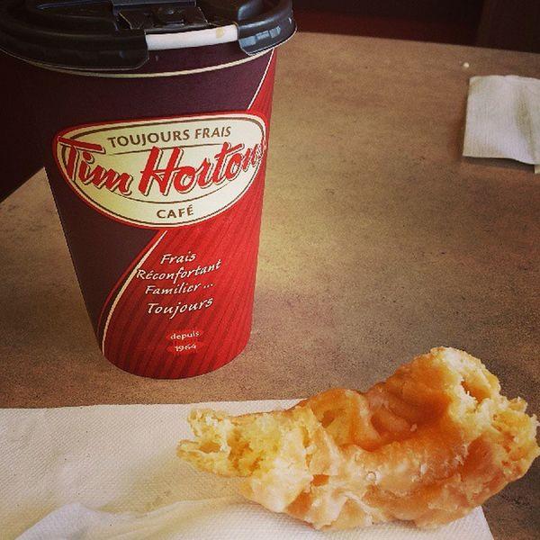 Honeycruler Tims Coffee Gooood