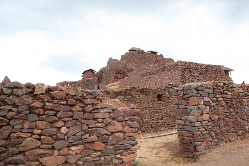 Pisac Perú Ruinas Incas Sky Architecture Wall Solid Stone Wall Built Structure Cloud - Sky Rock Nature History The Past Day No People Rock - Object Building Exterior Stone Material Ancient Travel Destinations Old Stone - Object Ancient Civilization Outdoors Archaeology