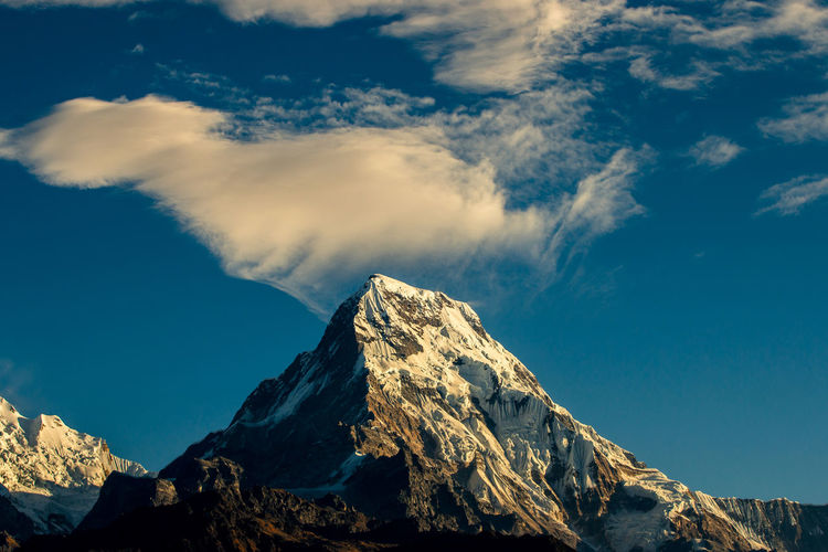 Cloud Cheeta, this Cloud cheeta photo was taken at Poonhill, Nepal. Poonhill is very famous for view mountain and sunrise. Annapurna Ghorepani- Nepal HimalayaScape Himalayas Perspectives On Nature Poonhill, Travel Cloud - Sky Cloud, Mountain Sky,