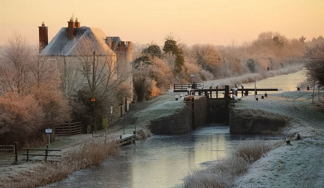 Winter's Morning Ireland Winter Frost Wonderland EyeEm Best Shots EyeEm Nature Lover Sunrise Check This Out Peace And Quiet Hello World