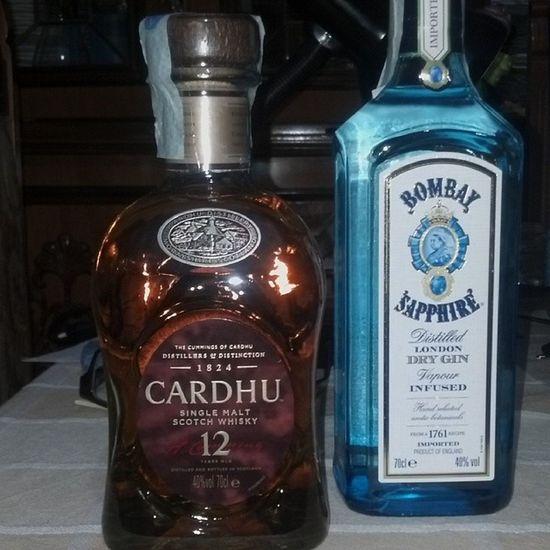 Cardhu Scotchwhisky GIN Bombaysapphire