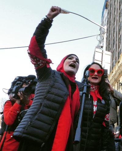 New York City News Photography Editorial Photography Linda Sarsour Women's Day International Women's Day Togetherness Women Women Around The World Resist The Portraitist - 2017 EyeEm Awards The Photojournalist - 2017 EyeEm Awards The Photojournalist - 2018 EyeEm Awards
