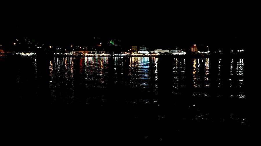 The Great Outdoors With Adobe Nightphotography Turkishfollowers Turkey Izmir Turkeyphotos Seaside Sea View Beautiful Light Coloutful