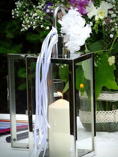 Candle Wedding Fire Of Love True Love Newly Weds Crome  Flowers Reflection EyeEm Gallery Eyeem Market Popular