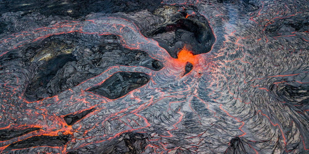 Images from 2018 Kilauea volcanic eruption Capture Tomorrow Nature No People Lava Hawaii Volcano Eruption Kilauea Erupting Power In Nature Power Fire Night Light Heat - Temperature Heat Red Orange Color Black Contrast Environment Nature Power Of Nature
