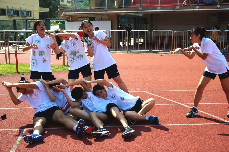 Sports day heat! Friendship House Captains Sports Day  Sportsdayheat Jenkins Ywgs Chiu's2016