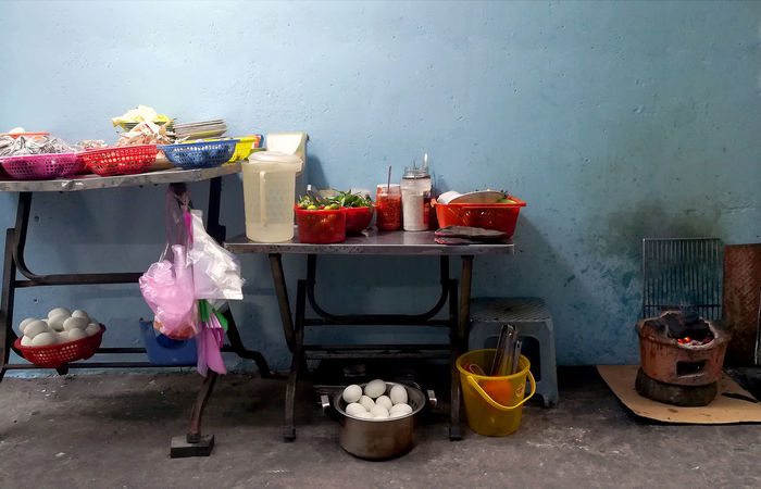 Vietnam Vietnamese Food Chair Choice Duck Egg Food Food And Drink Freshness Household Equipment Indoors  No People Seat Still Life Table Wall - Building Feature