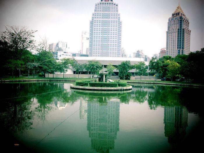 Sawasdee World. Lumphini Park Veiw Silhouettes Of A City Taking Photos Relaxing EyeEm Thailand .