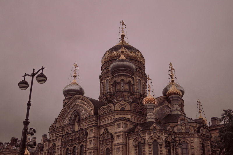 Russia Russianchurch Architecture Russianarchitecture Saint Petersburg Religion Place Of Worship City Architecture Sky