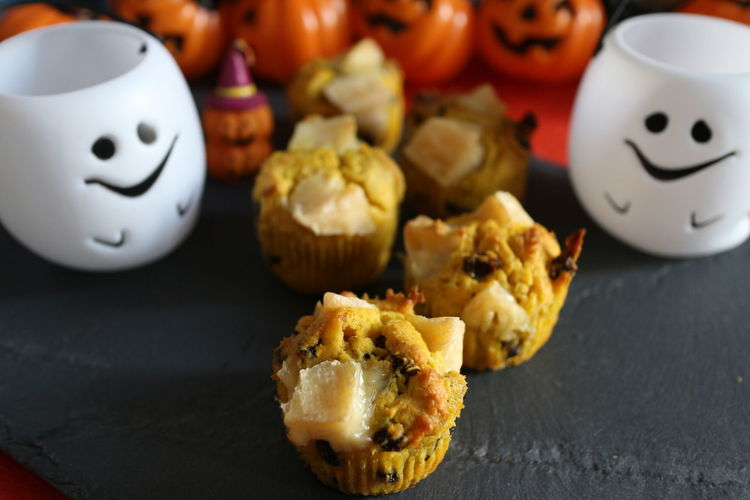pumpkin&camembert cheese cupcake Cupcakes Cup Cupcake Cupcake ♥ Cupcakes♡ Raisins Raisin Raisinswithcheese Camembert Cheese Pumpkins Pumpkin!Pumpkin! Pumpkin Indoors  Food No People Food And Drink Sweet Food Halloween_Collection Homemade Close-up Halloween Halloween EyeEm Foodphotography Foods Sweet Sweets Ivent Table Cupcake Dessert
