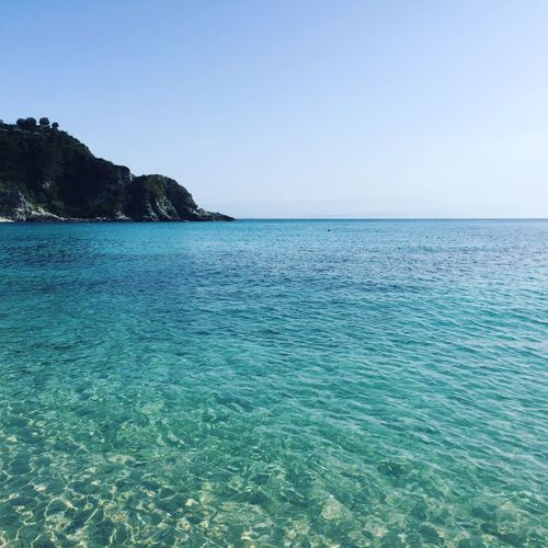 Crystal Blue soul. Water Blue Seascape Waterfront Clear Sky Sea Fresh On Eyeem