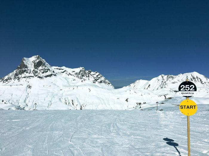 Beauty In Nature Cold Temperature Day Landscape No People Outdoors Saloberkopf Ski Snow Warth Winter