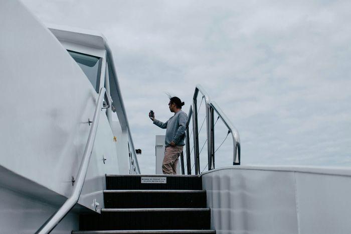 Selfies Selfie ✌ Sky Boat Sydney Australia White Trip