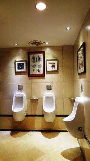 Restaurant Lavatory Arts in Dongguan Toilet's Art Bathroom Flushing Toilet Public Restroom Toilet Urinal