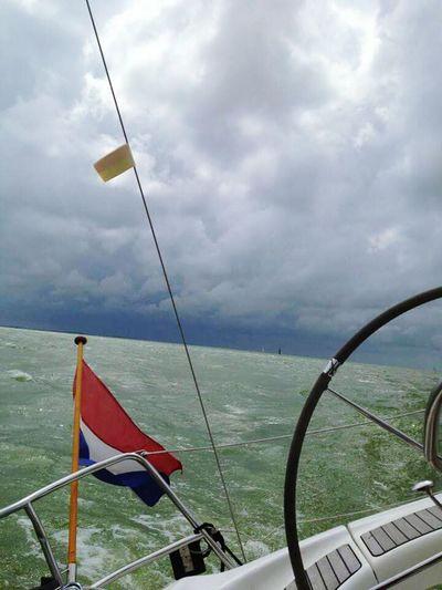 Sky Nautical Vessel Nature Outdoors Sailing Day Sailing Sailing Boat On Lake Lake Waddenzee