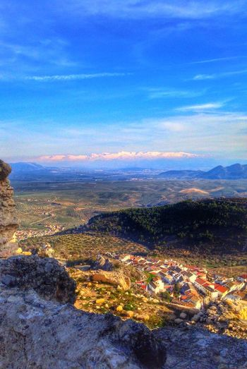 Spring from Moclín Castle From The Rooftop Melancholic Landscapes Respect For The Good Taste Let's Do It Chic! Panoramic EyeEm Best Shots