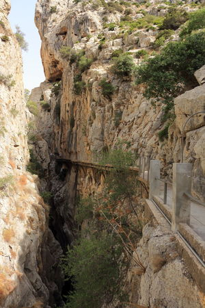 Alfonso XIII Caminito Del Rey Day Mountains Nature Nature Photography Nature_collection Outdoors Panoramic Photography Pantano Pasarelas Pasarelas Colgantes Scenics Tranquil Scene Tranquility