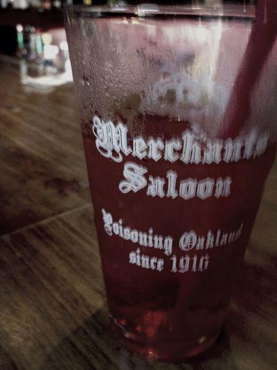@ Merchants saloon Oakland Drinks! Beeeeeeeer