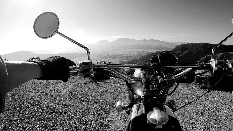 EyeEm Motorcycle Gopro GoPrography Blackandwhite Black And White Monochrome BSA Aso Eye4photography