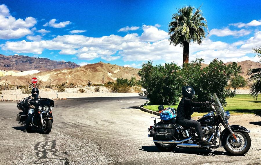 The Great Outdoors With AdobeThrowback Thursday Travelling Photography USA Death Valley Today's Hot Look Furnace Creek Bikers Brotherhood Mc Motorcycles Desert Beauty Let's Go. Together. Lost In The Landscape