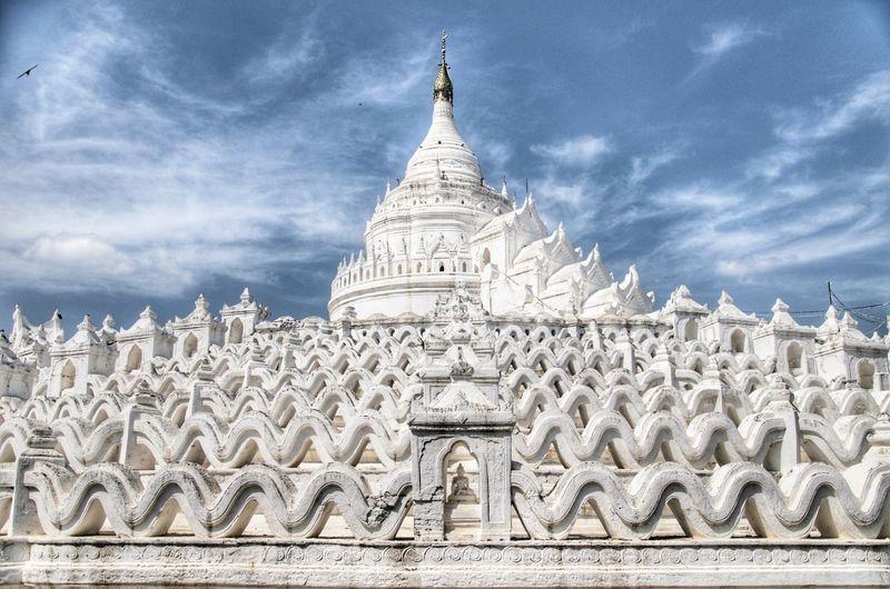 White Temple in Mingun Religion Architecture History Travel Destinations Ancient Travel Spirituality Ancient Civilization