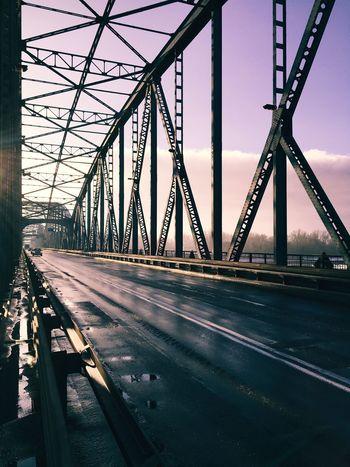 The City Light Bridge - Man Made Structure Bridge City Urban Urban Geometry Engineering Built Structure Colour Your Horizn