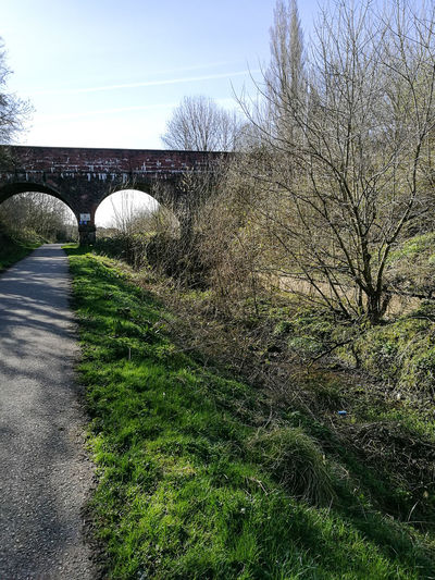 Disusedrailways Ashton Under Lyne Bridge Path Walking Tranquility Outdoors
