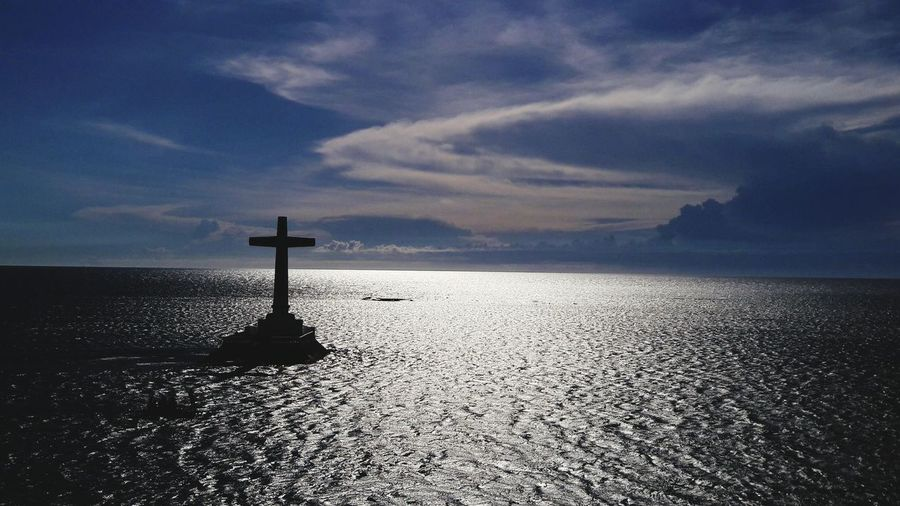 Eternal Peace Relaxing Sea And Sky Seascape Sea View Sunken Cemetery Camiguin Island Philippines Summer2016