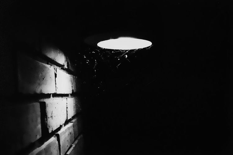 A light shines somewhere Film Photography EyeEmBestPics Eye4photography  EyeEm Best Shots Lowlight EyeEm 35mm Canon Darkness And Light Leading Lines Brick Wall Shadow Light And Shadow