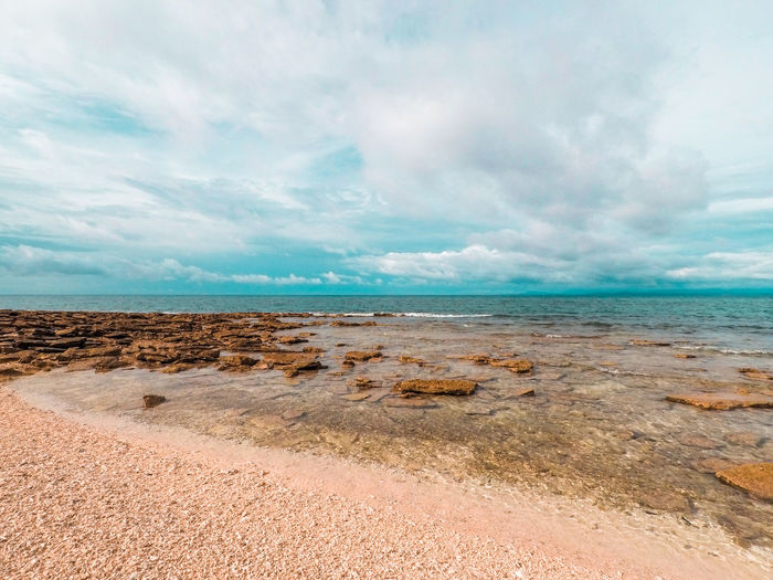 Beach Beauty In Nature Cloud - Sky Day Eyeem Philippines Horizon Over Water Landscape Nature No People Outdoors Sand Scenics Sea Sky Tranquility Water