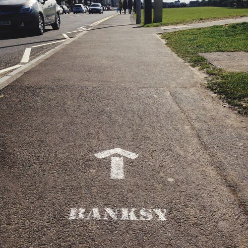 Banksy is waiting...