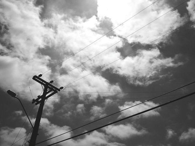 Sky And Clouds Black And White Collection  Blancoynegro Monocromatico Village