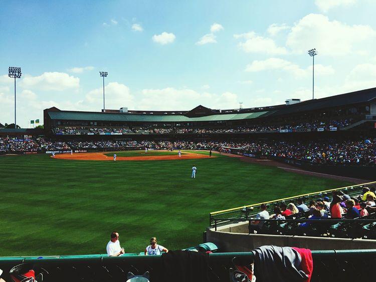 Newphotographer Photography 502 Adventure Wheremyheartis Summer Views Baseball Louisville, Kentucky Baseball Game Louisville Skyline Louisville Bats ⚾️