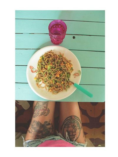 Vegan Food Tattoos Greenmint