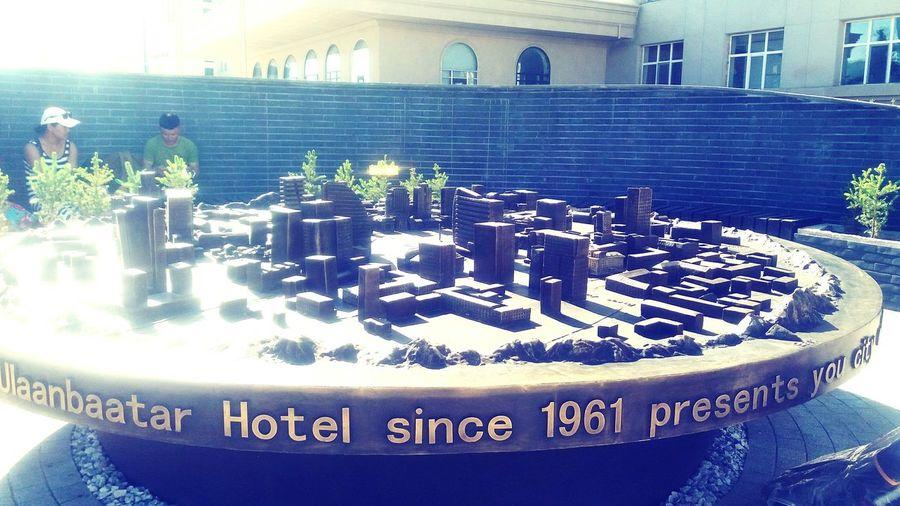 Ulaanbaatar Hotel Ulaanbaatar City Taking Photos Maket Buildings