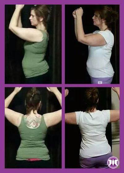 "She lost 7"" in 7 days on her Quick7. Awesome Job Brisi! Anewyoustartshere www.facebook.com/anewyoustartshere. Weightloss"