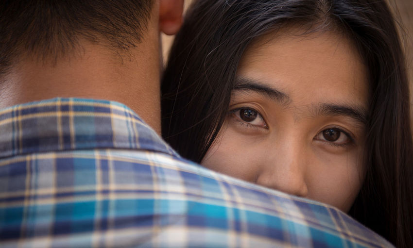 Lovers cuddle with love. Adult Bonding Close-up Couple, Love, Hug, Woman, Happy, Young, Romantic, Girlfriend, Girl, Boyfriend, Beautiful, Together, Lover, Cuddle, Female, Romance, Dating, Male, Husband, Two, Background, Concept, Lovers, Lifestyle, Cuddling, Tenderness, White, Embracing, Outside, Portra Day Happiness Headshot Indoors  Looking At Camera Love Men People Real People Romantic❤ Togetherness Two People Young Adult Young Men First Eyeem Photo
