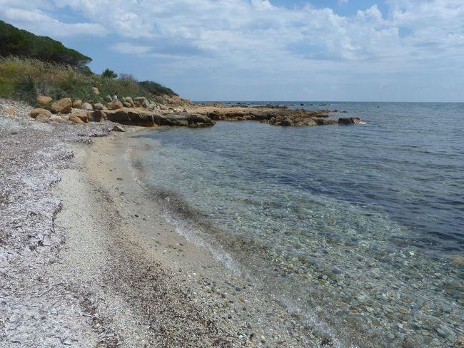 beautiful day...😊 Sardinia Sardegna Italy  Sardinia Sardegna Water Sea Beach Sand Rock - Object Sky Horizon Over Water Cloud - Sky Rocky Coastline Coastline Coast Rock Formation Calm Seascape Rock Coastal Feature