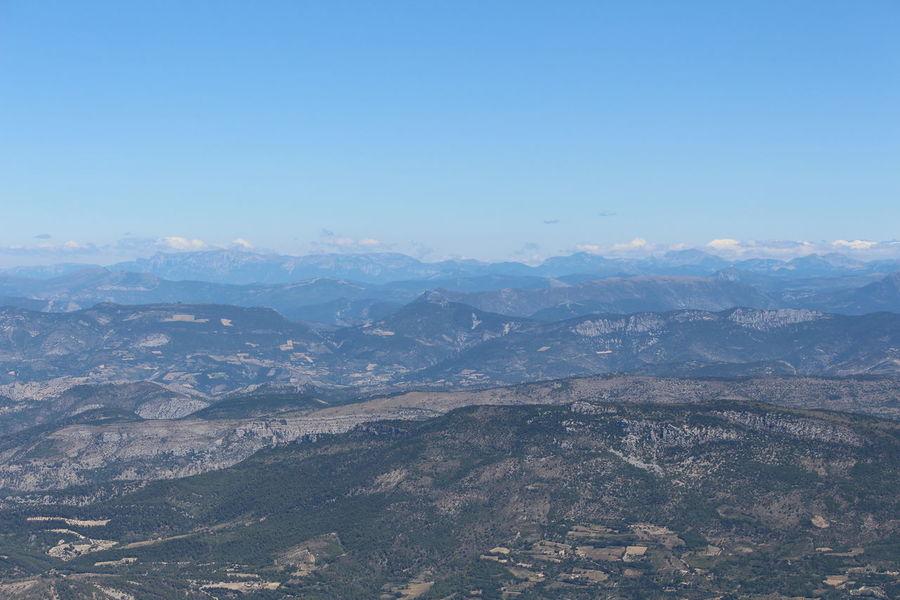 Mountain Mont Ventoux Montagnes Paysage Cloud - Sky Nuages Et Ciel Beauty In Nature