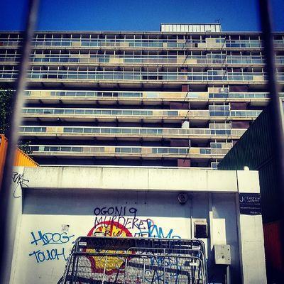 heygateestate Heygate Walworth Walworthroad derelict architecture brutalist