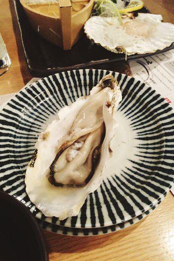 牡蠣です\(゚ω゚ )> EyeEm OneCam Seafoods Oyster