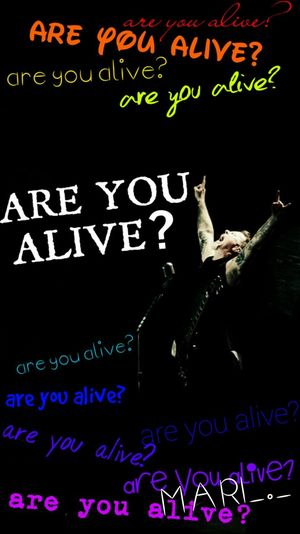 Metallica Are You Alive? Heavy Metal My Love Live Metal