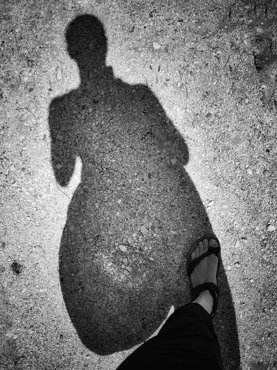 Me and my shadow | Summer Views Shades Of Grey Walking In The Sun Buffalo Soldier Me And My Shadow Getting Inspired Black & White Birkenstock Mania EyeEm Italy |