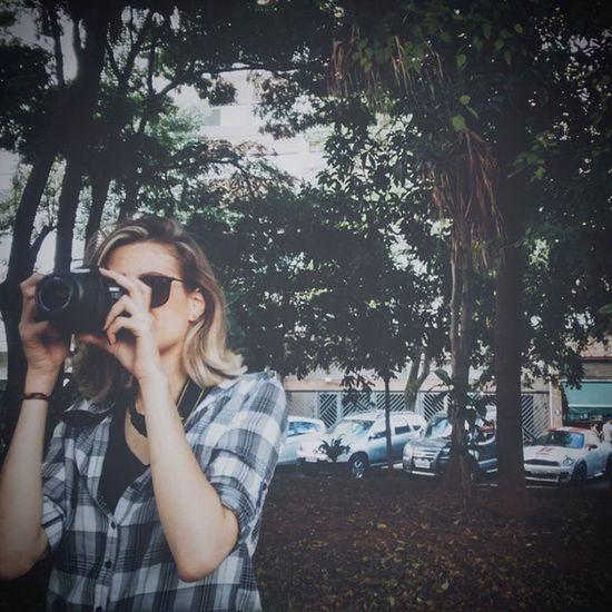 O dia feliz em que a Migs me deixou pagar de fotógrafa (mesmo eu não sabendo nada sobre hahahaha), mas segundo ela: as roupas pretas eu tenho! ✔ Photograph Latergram Vscocam Happy Amadora Nikon Beneditocalixto