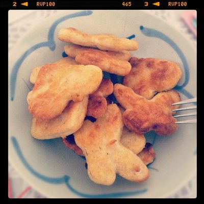 Getting the protein I need from chicken fairy snacks before tomorrow's exam :( fighting! @tamsiksik HSC Mathematics Instastudy Instafood foodporn 4unit 2unit tryinghard