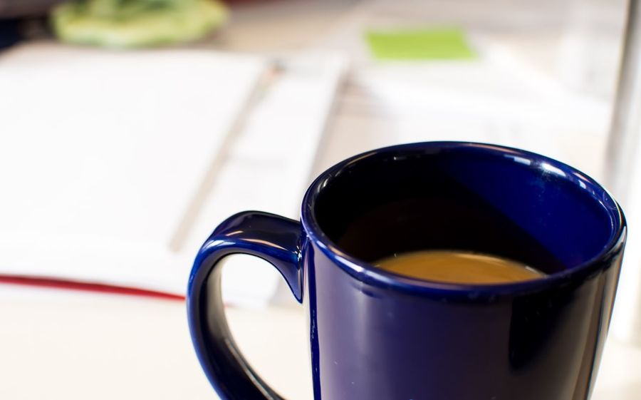 Coffee Business Finance And Industry Business Files Desk Office Close-up Focus On Foreground No People Coffee Cup Indoors  Table Drink Freshness Day Refreshment