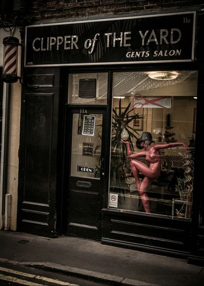 This is the barbers right next to New Scotland Yard. I suppose it is wordplay on Nipper (Reade) of the Yard. A famous detective in the 60s and 70s! London London London!!! Eye4photography  Barbershop EyeEm Best Edits
