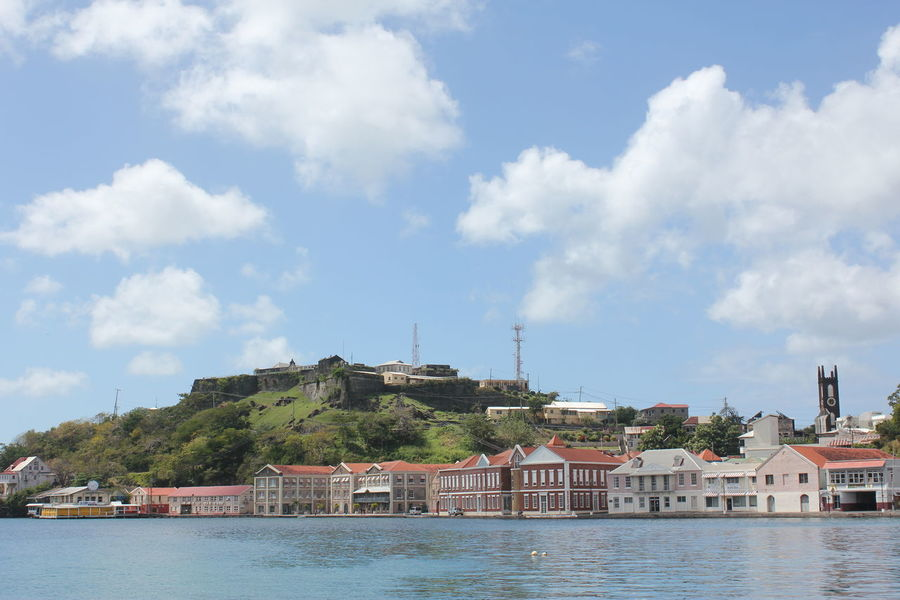 Saint George's on Grenada 2013 Architecture Building Exterior Built Structure Caribbean Architecture Caribbean Cruise Caribbean Cruise Ports Caribbean Island Caribbean Life Caribbean Town City Cloud - Sky Day Harbor Town Island Of Grenada Nature No People Outdoors Sky Water